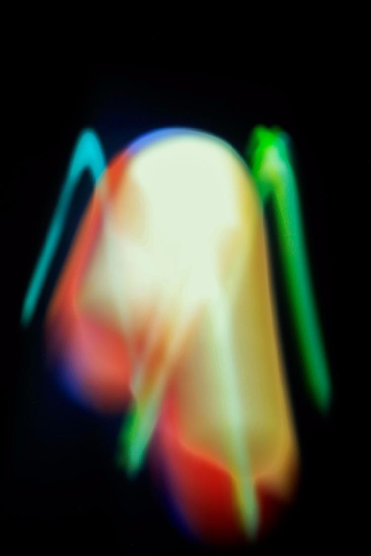Pintando con la luz - experimentation - azulaymarabi   ello