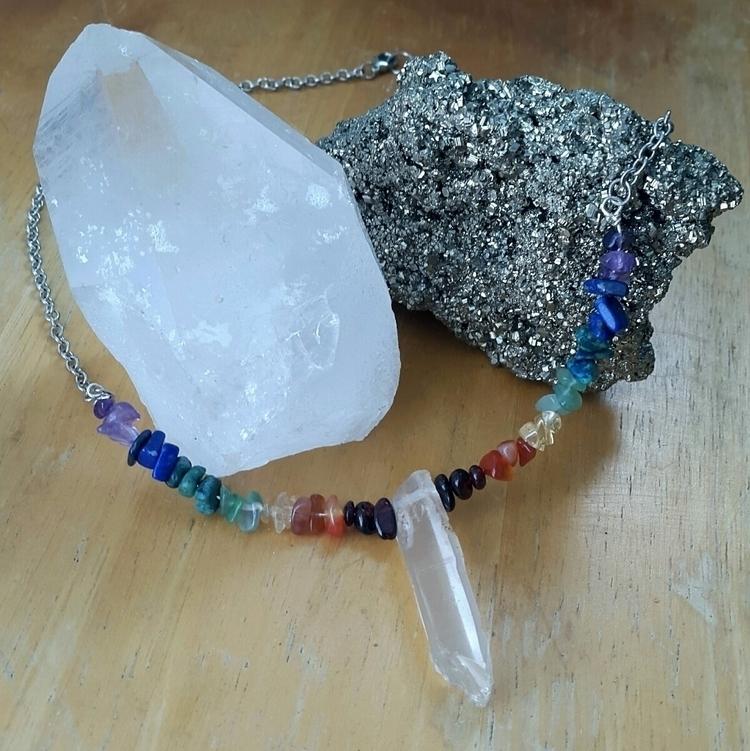 chakra balancing necklace gemst - artbywolves   ello