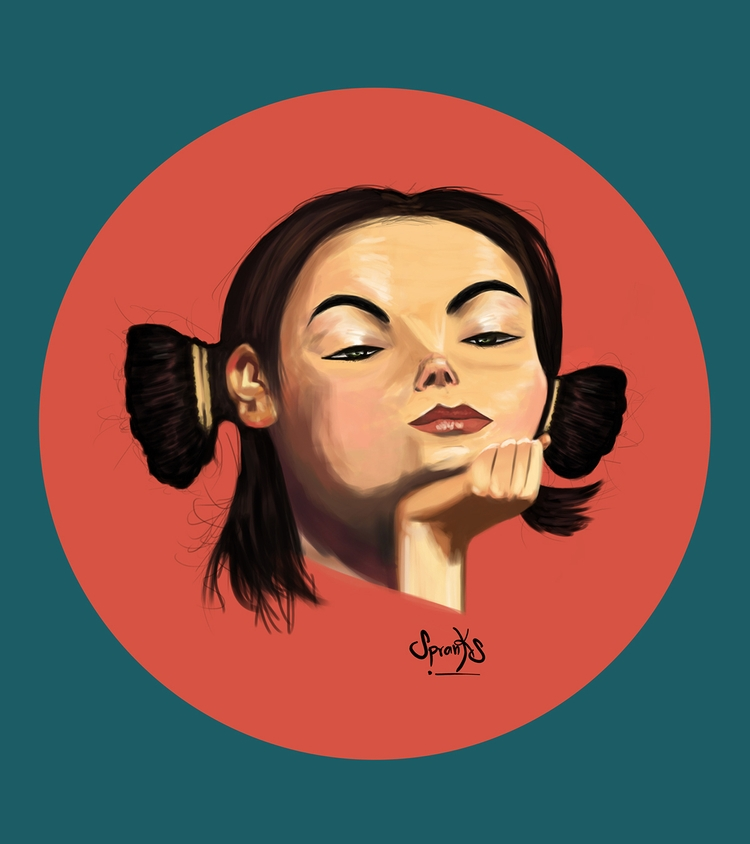 Björk find work - illustration, sketchbook - spranksgt | ello