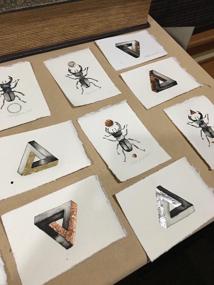 mini paintings shop - smallart, penrose - alexakarabin | ello