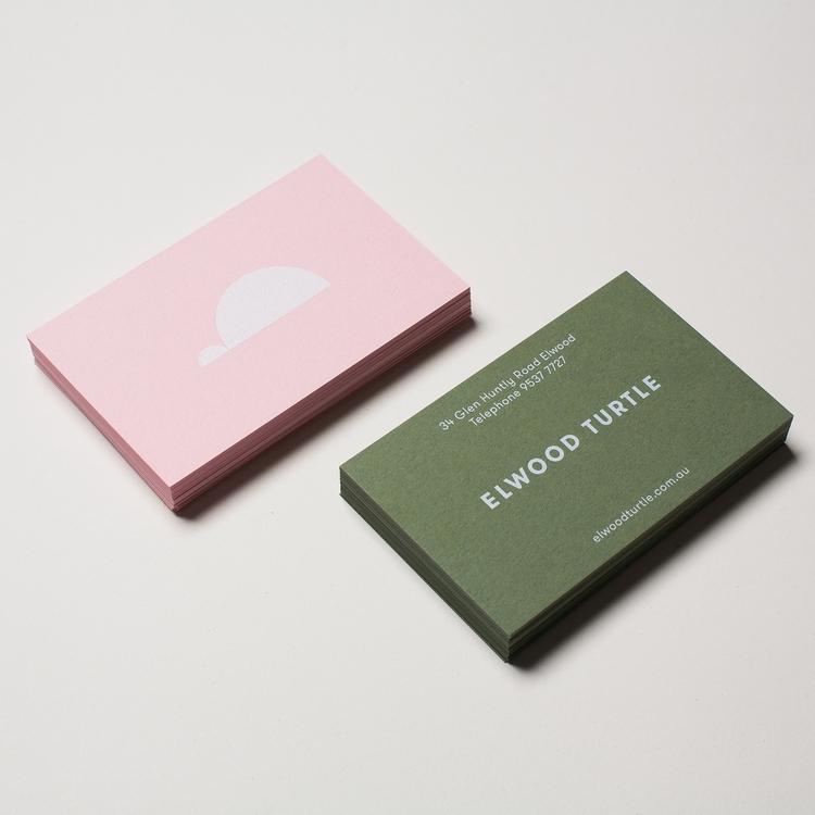 Elwood Turtle Business Cards Ti - dailydesigner | ello