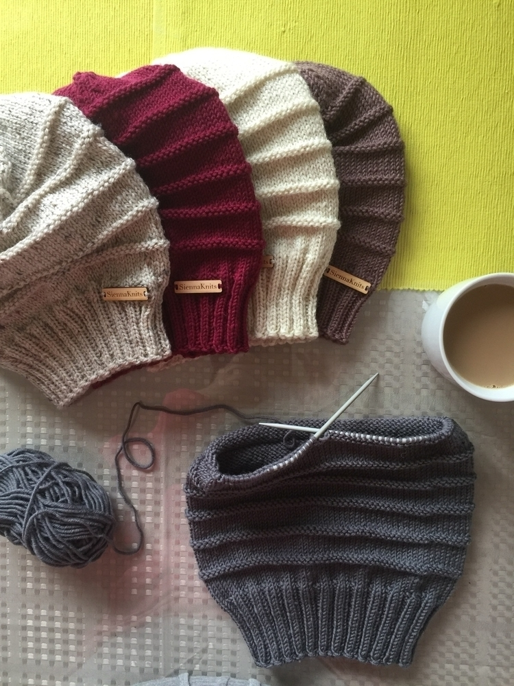 Mornings, coffee knitting, perf - siennaknits | ello