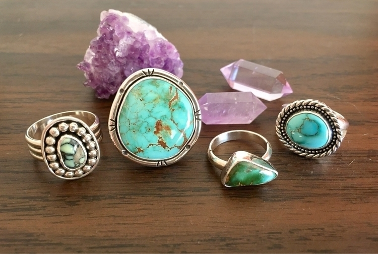 finished work today - turquoiserings - notchandfletch | ello