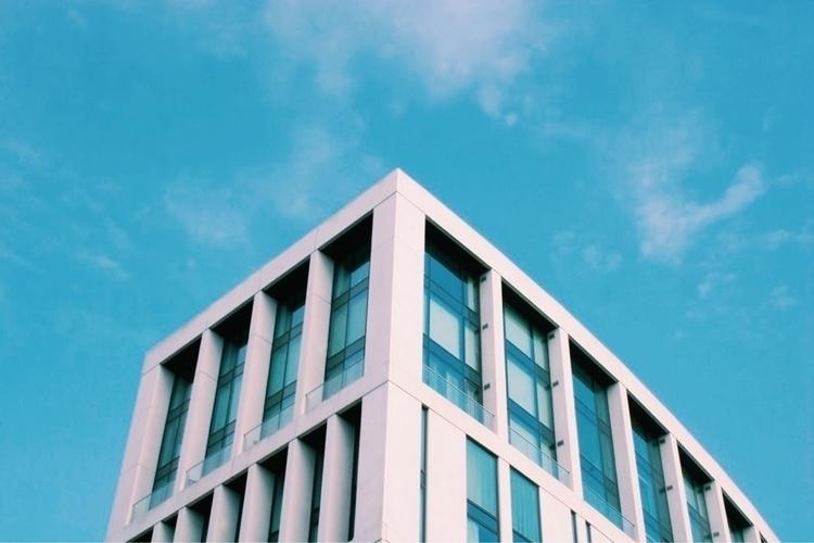 architecture, shy, blue, city - teddford   ello
