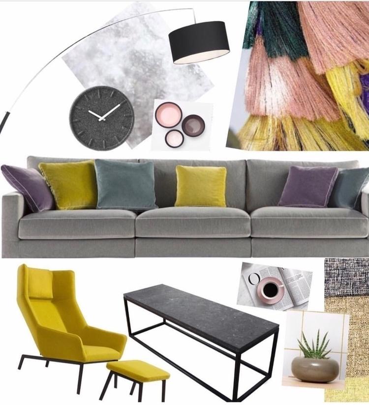 colour, concept, interiordesign - spaces_by_sophie | ello