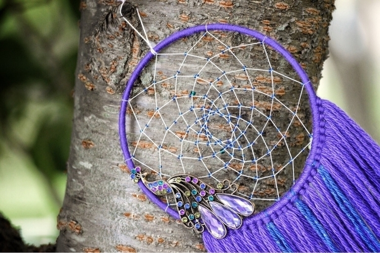 LISTED! purple blue peacock dre - thewoodsywitchh | ello