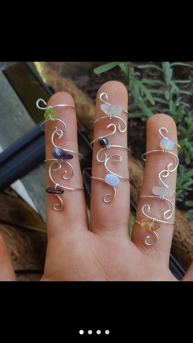 Beautiful handmade toe rings ge - kiraskycreations | ello