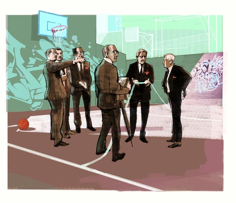 Developers - conceptual, illustration - alexgreendraws | ello