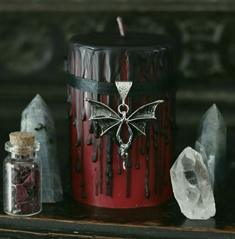 candle added - metalhead, darkstyle - firsteditioncandleco | ello