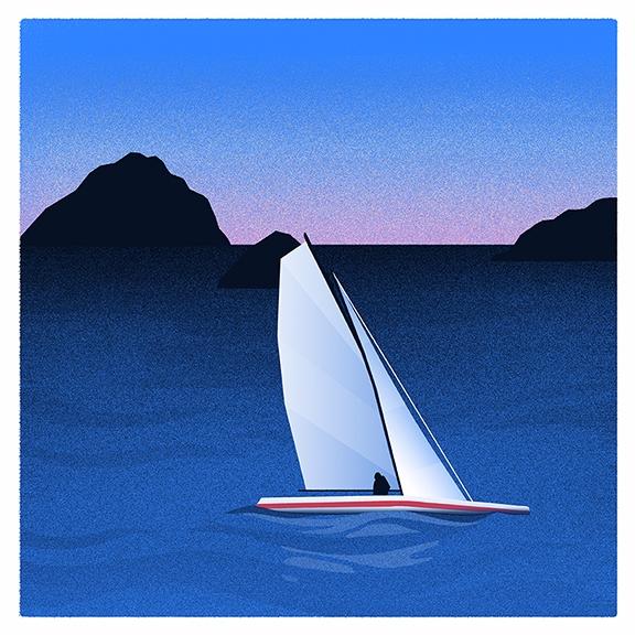 Sailing Dusk - dylanfowler | ello