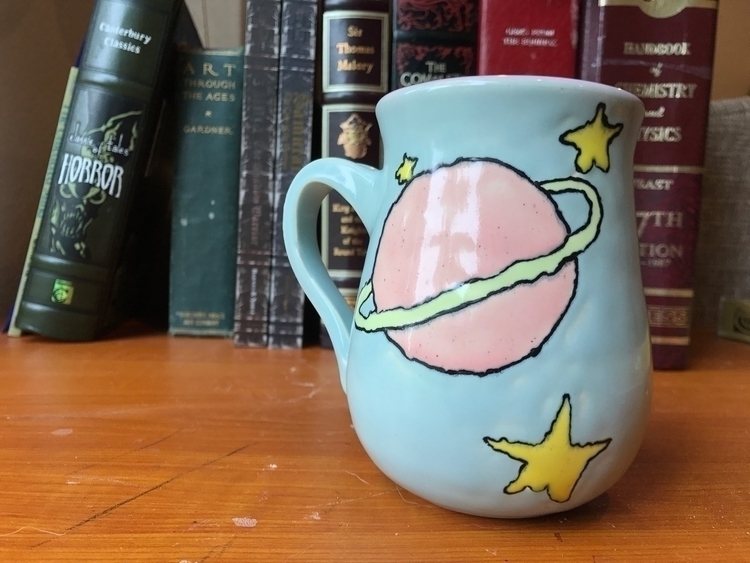Space mug - potter, ceramics, elloceramics - mcpspots | ello