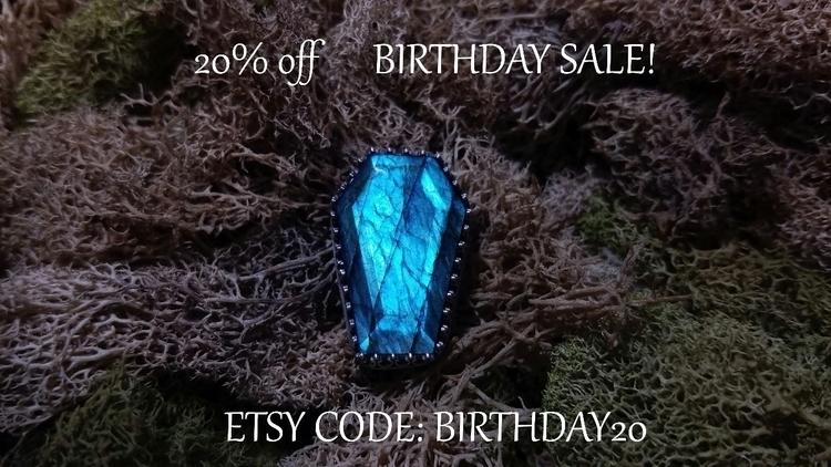 birthday share offering 20% cod - meadowstonecrafts | ello