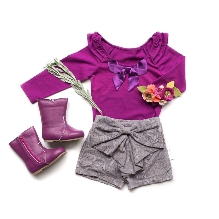 | Grape Bow Top Featuring Gunme - kcoulstdesigns | ello