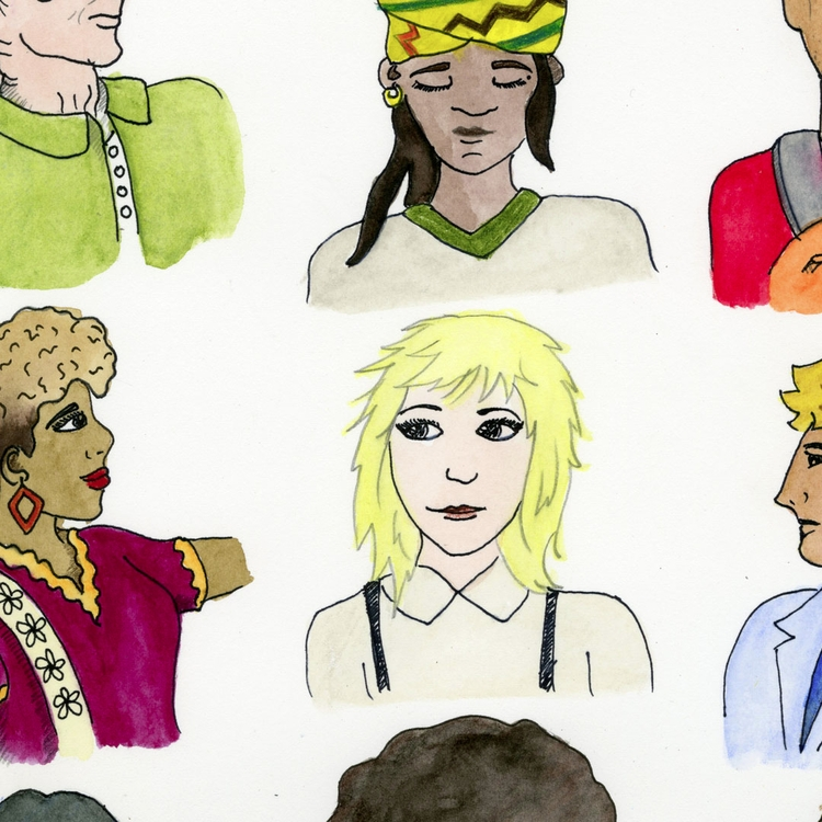 small section Hairstyles Subway - nancydraws | ello