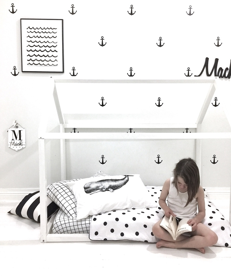 Nautical Monochrome love Sperm  - brownpaperlemon | ello