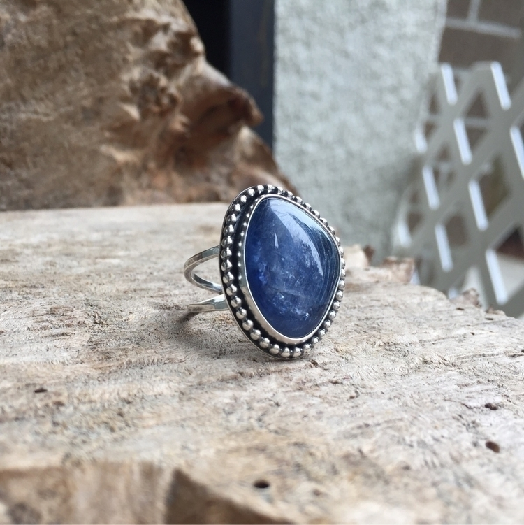 Kyanite stone... totally drool - twocatsjewelry | ello