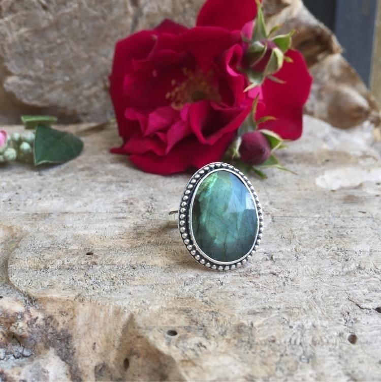 Labradorite  - labradorite, gemstones - twocatsjewelry | ello