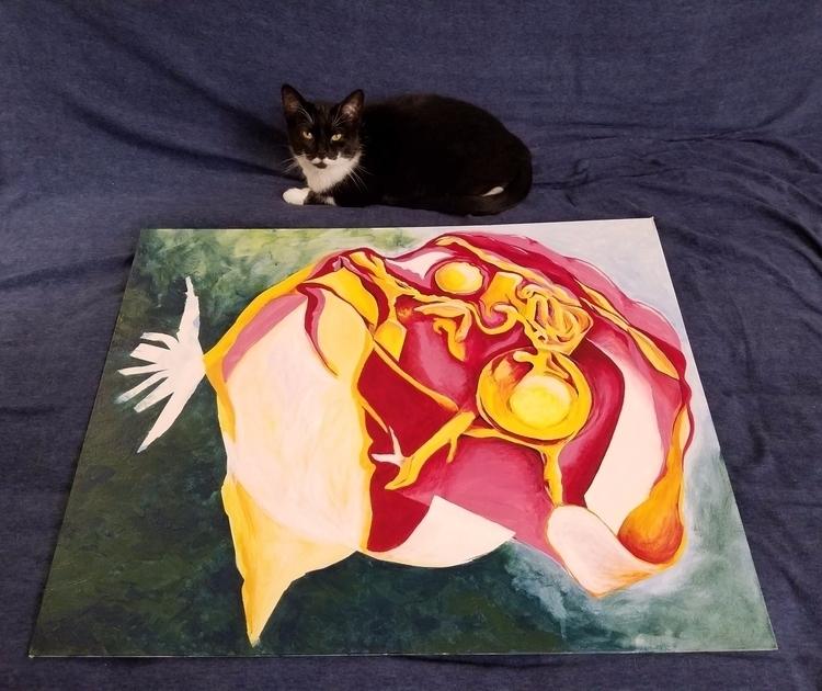 feline overlord excited progres - la_polaca_destaca | ello