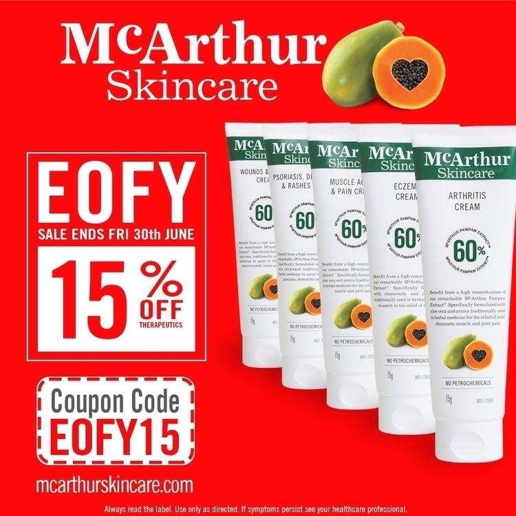 15% McArthur Skincare Therapeut - mcarthurskincare | ello