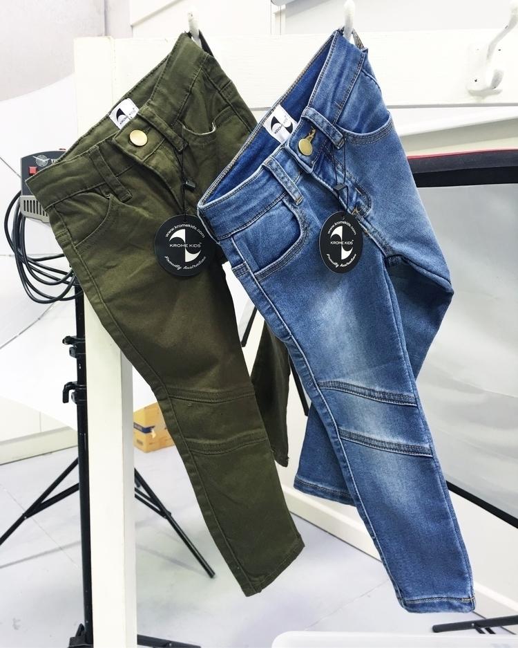 gorgeously soft stretchy jeans  - kromekids | ello
