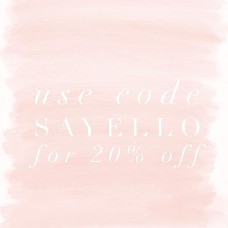 hey babes - code SAYELLO 20% st - bow_baby_au | ello