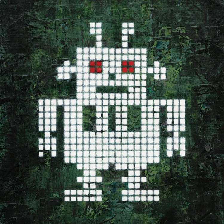 White Robot, Red Eyes - jellemulder | ello