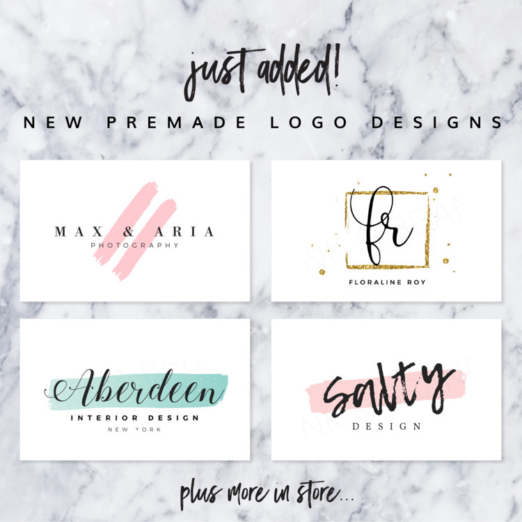 20 pre logo designs added shop - ink_and_brand | ello