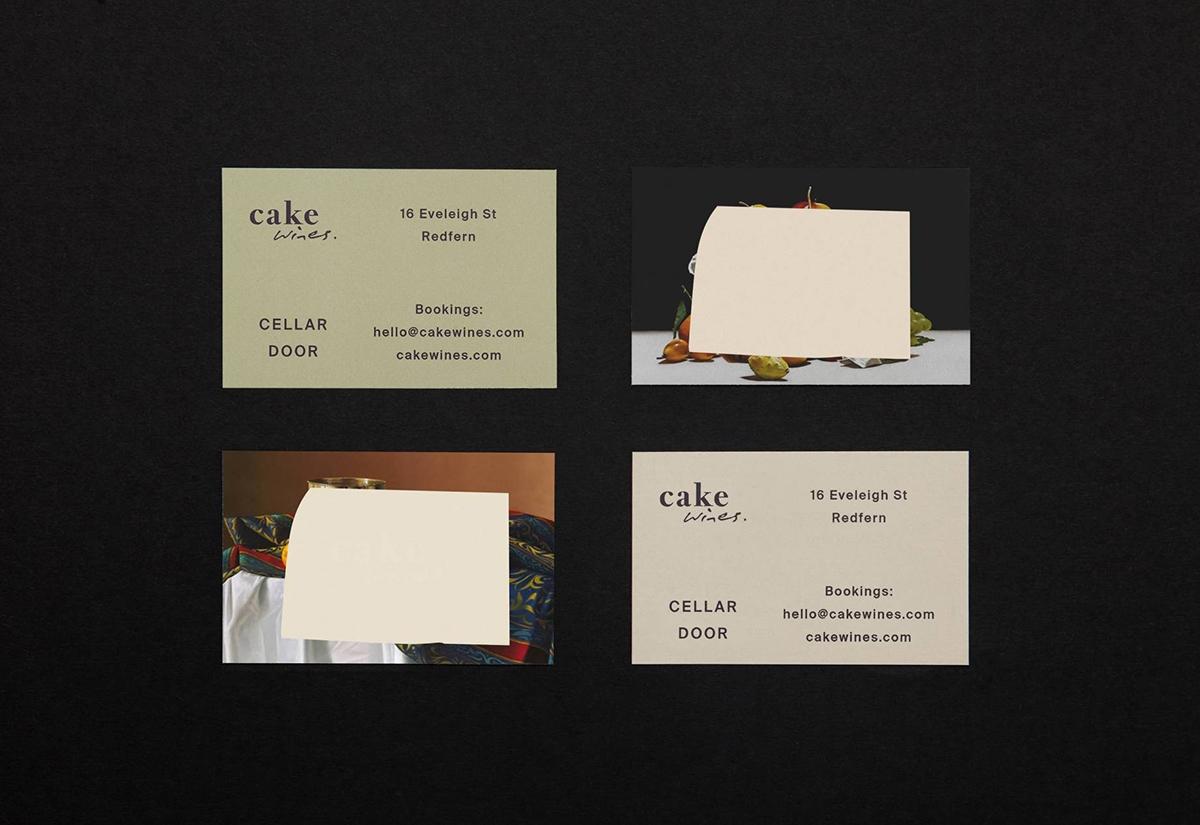 Visual identity Cake Wines Cell - northeastco | ello