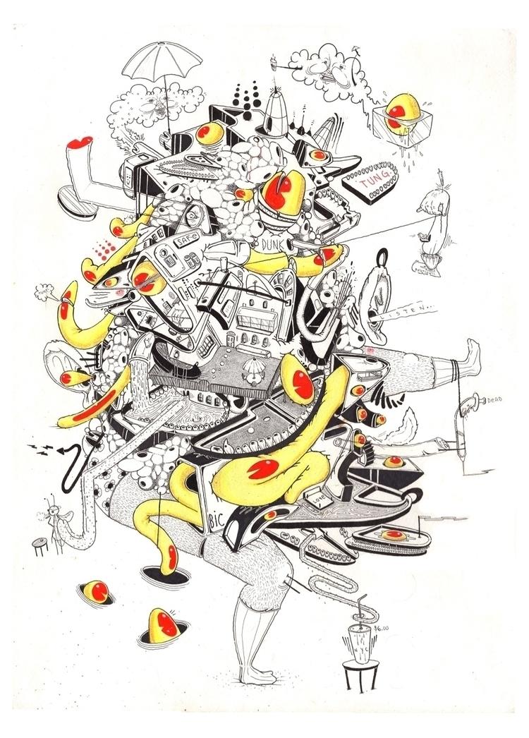 art, artist, artwork, abstract - dzzzemi718 | ello