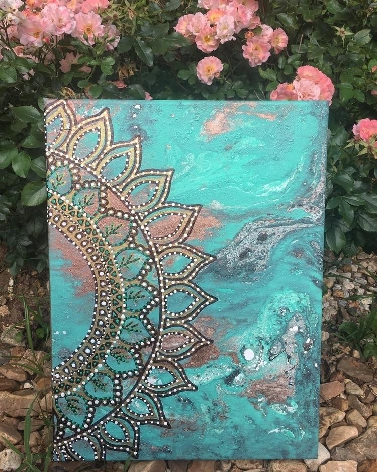 12x16 original art canvas - acrylic - thatgirlstayce | ello