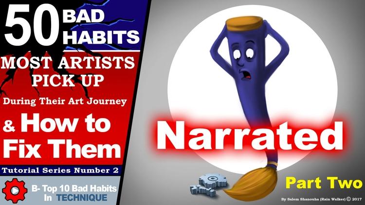 Top 50 bad habits artists picku - rain_walker | ello