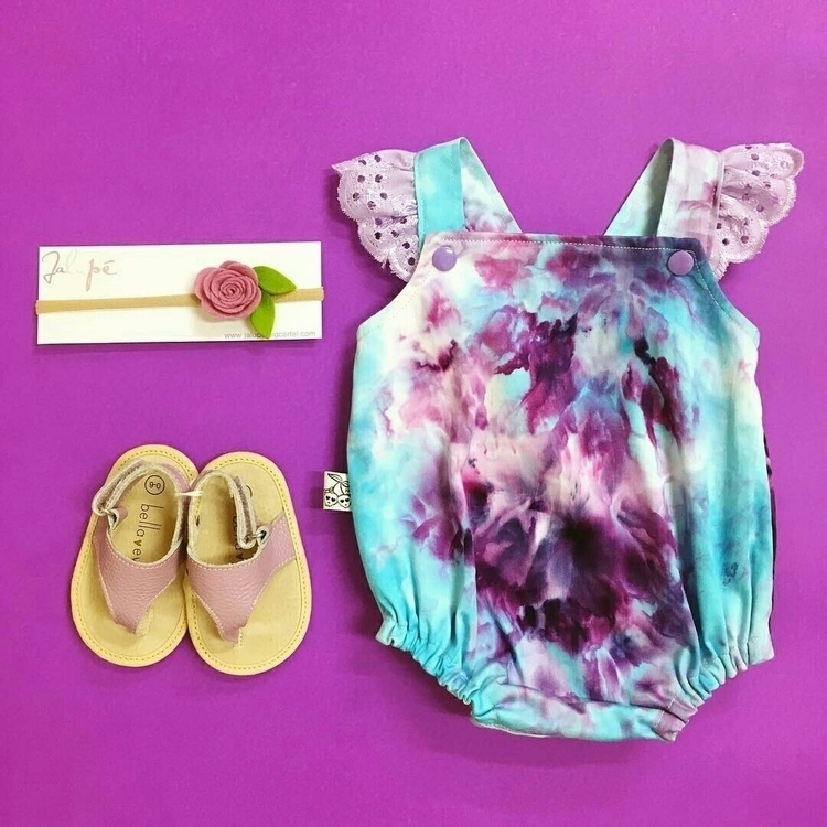 cute ice dye rompers production - izbitsworld | ello