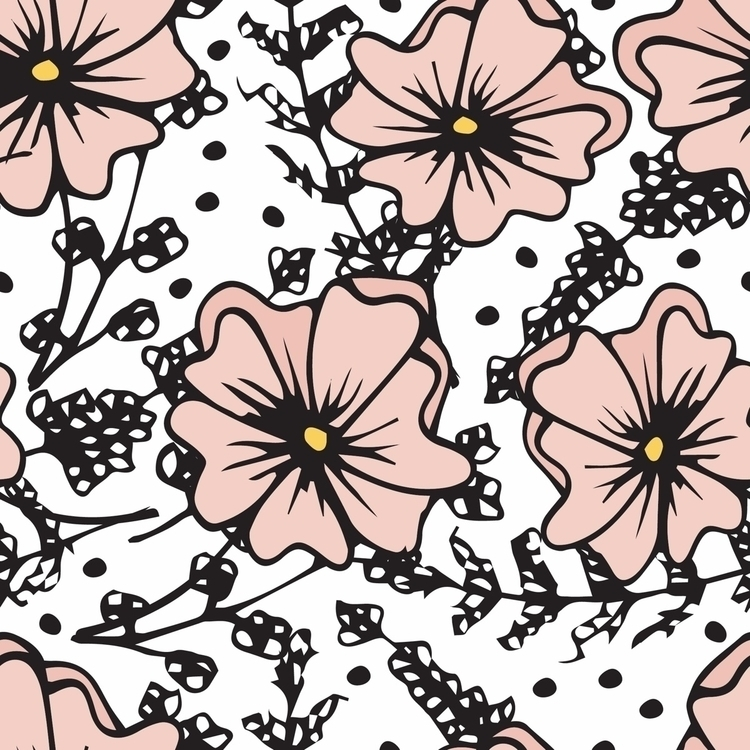 Patterns passion - pattern, floral - kristynedelkovski | ello