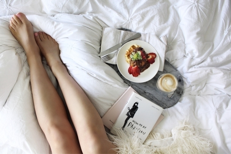 slow weekend vibes Waffles + ch - danielle_vella | ello