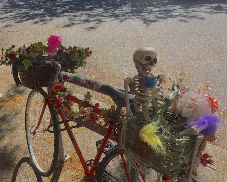 Decorated bicycle holiday, met  - dave63 | ello