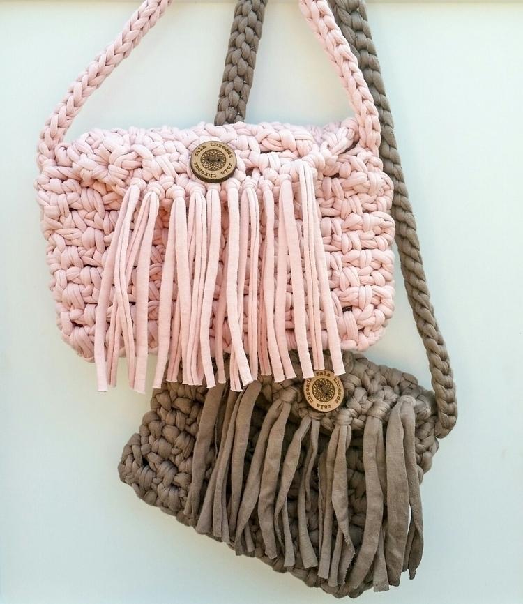 Kid sized crochet bags - zala_threadz | ello