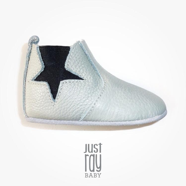 Floyd boot. 100% soft grey leat - justray_baby | ello