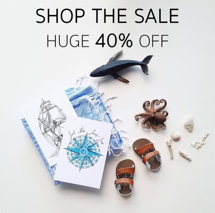 40% hand drawn nautical prints - wildberry_art | ello