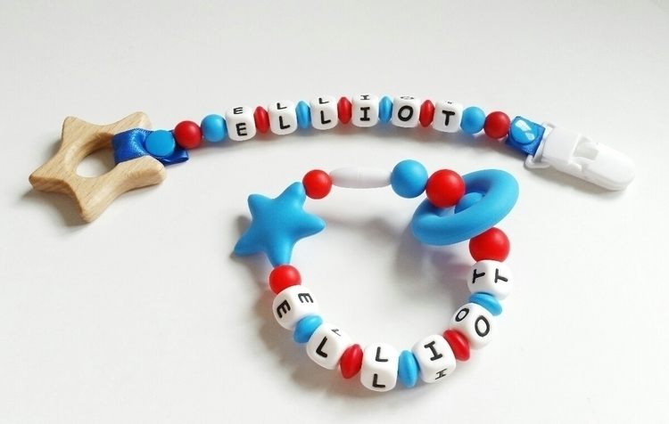 Personalised silicone teething  - can_canz_ | ello