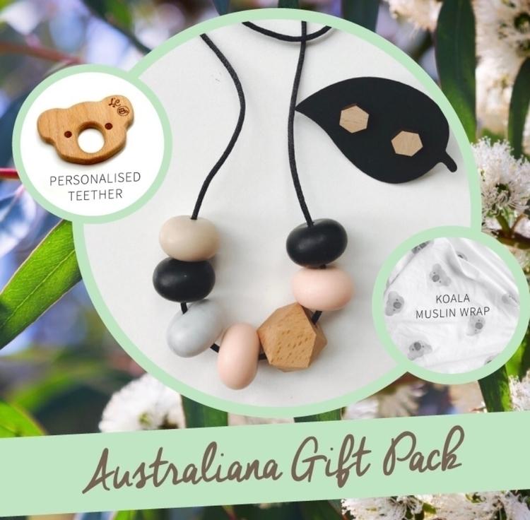 Australiana inspired gift pack  - bubbachewsiliconejewellery | ello