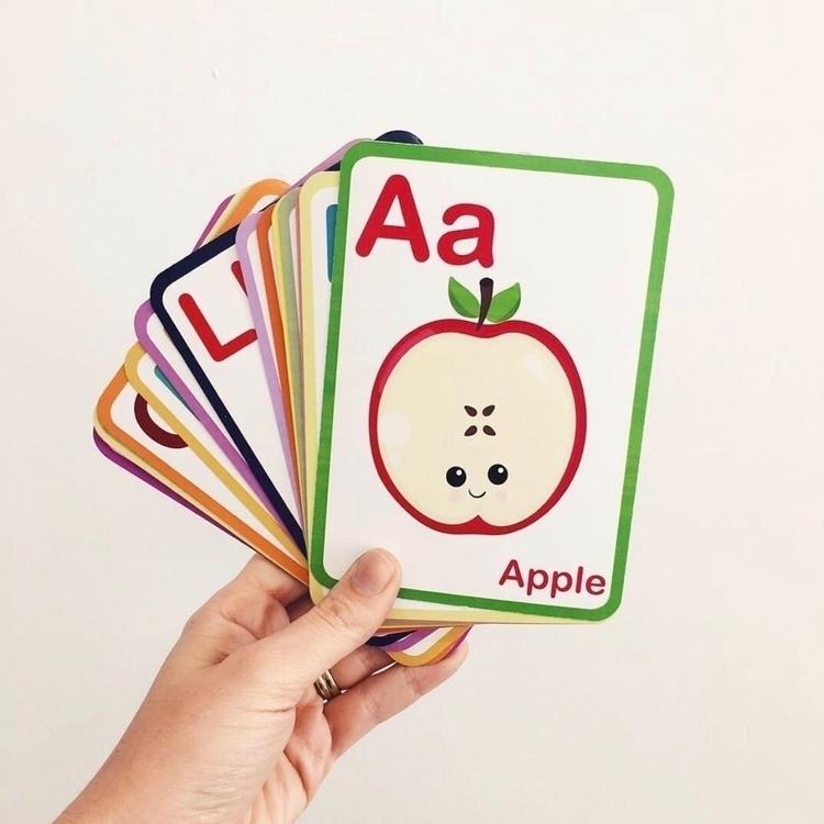 ABC flash cards  - flashcards, flashcard - vandababycards | ello