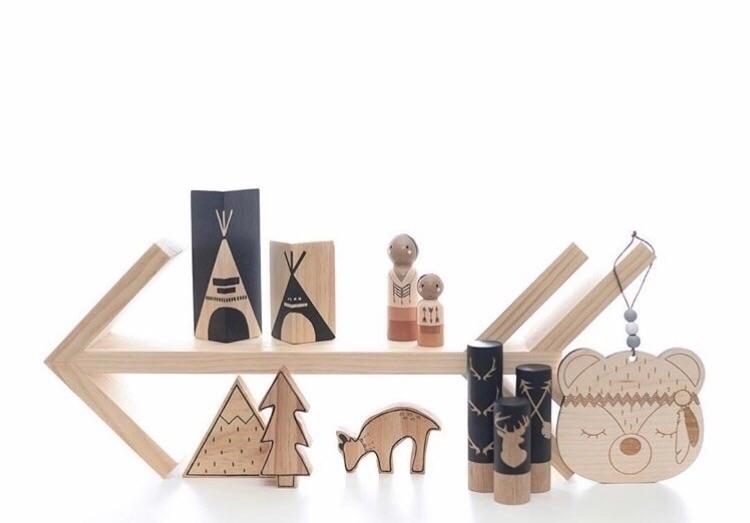 Teepee blocks perfect tribal th - seedlinginteriors | ello