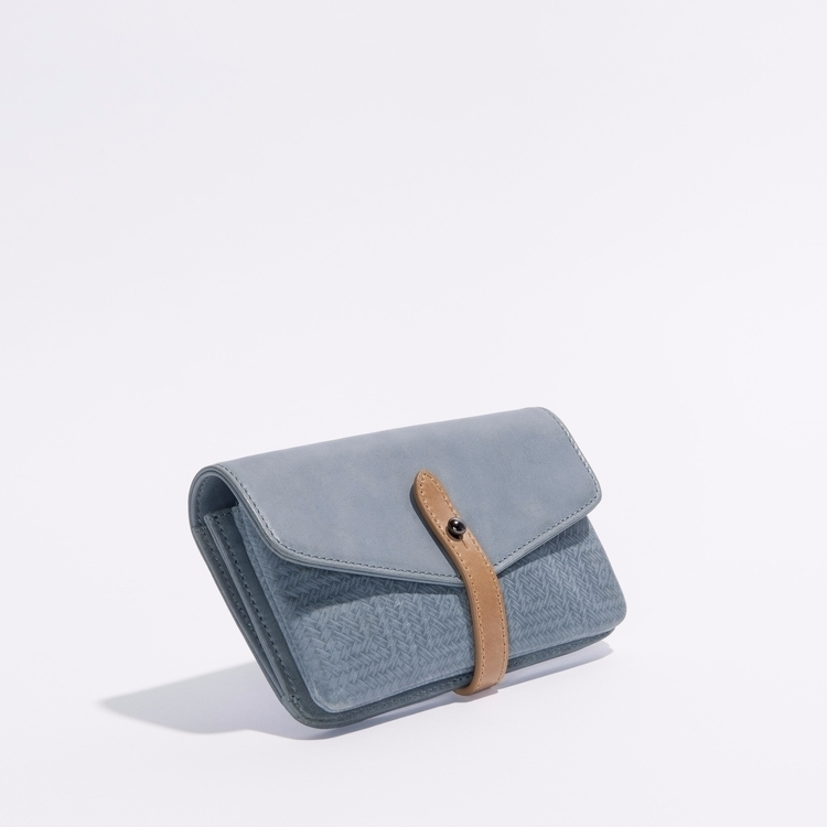 Elements Wallet - Ocean - leather - harlequinbelle | ello