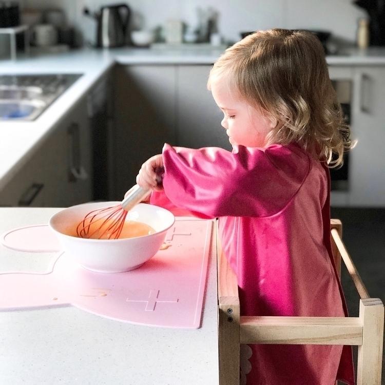 Ivy prepping scrambled eggs mor - tegan_jean | ello