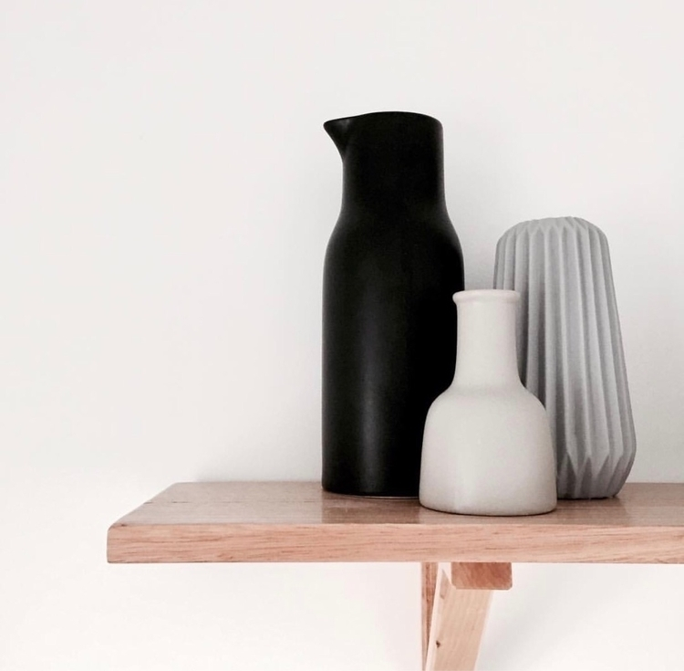 Simple Shelf Decor - scandihome - bymay | ello