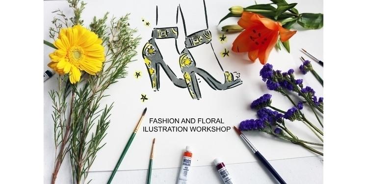 Ello 'Fashion Floral Illustrati - alittlebitebygrace | ello