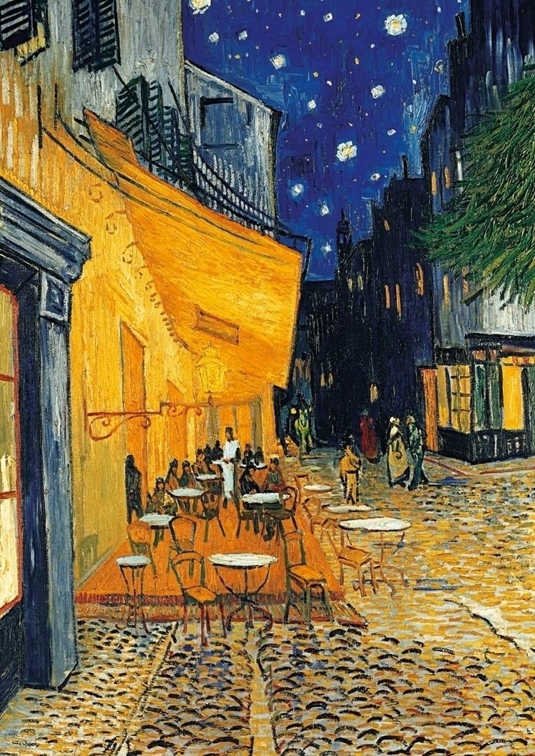 Van Gogh inspired piece!:heart - handmadejewelsbyfede | ello