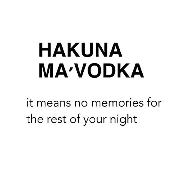 Saturday night feelings 1 vodka - piperandike | ello
