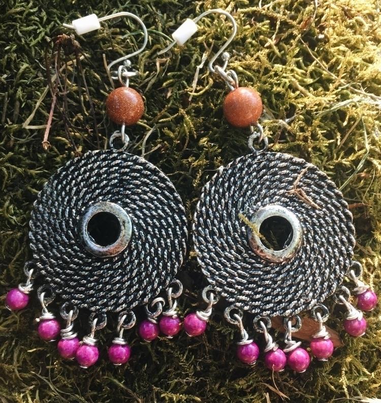 cool funky gypsy earrings viole - gypsyxjewels   ello