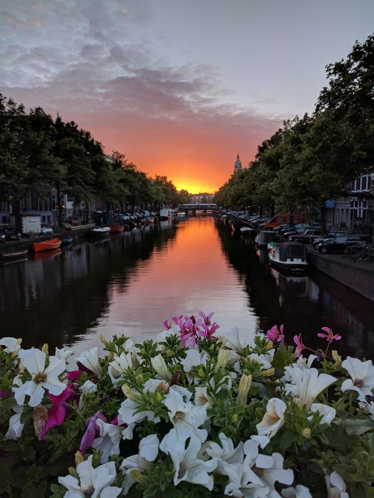 Amsterdam sunset - jimcofer | ello